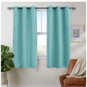 Other - FINAL PRICE DROP! Turquoise Light Dimming Curtains